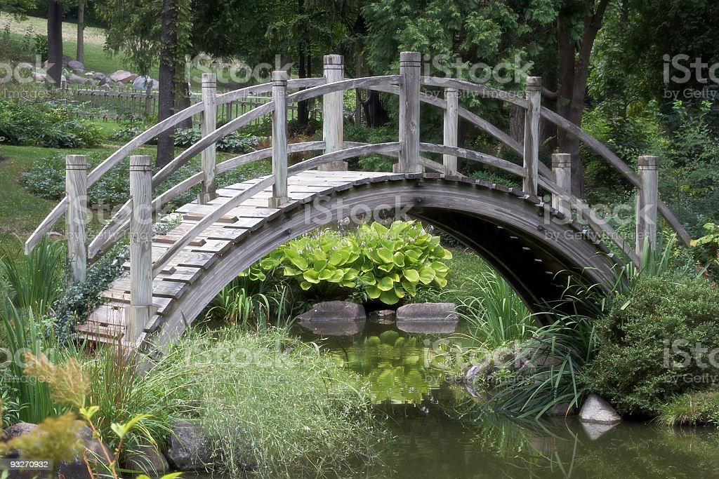 Arched Bridge royalty-free stock photo