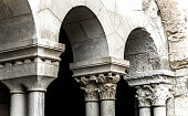 Arched passage. Bethlehem, Church Of The Nativity