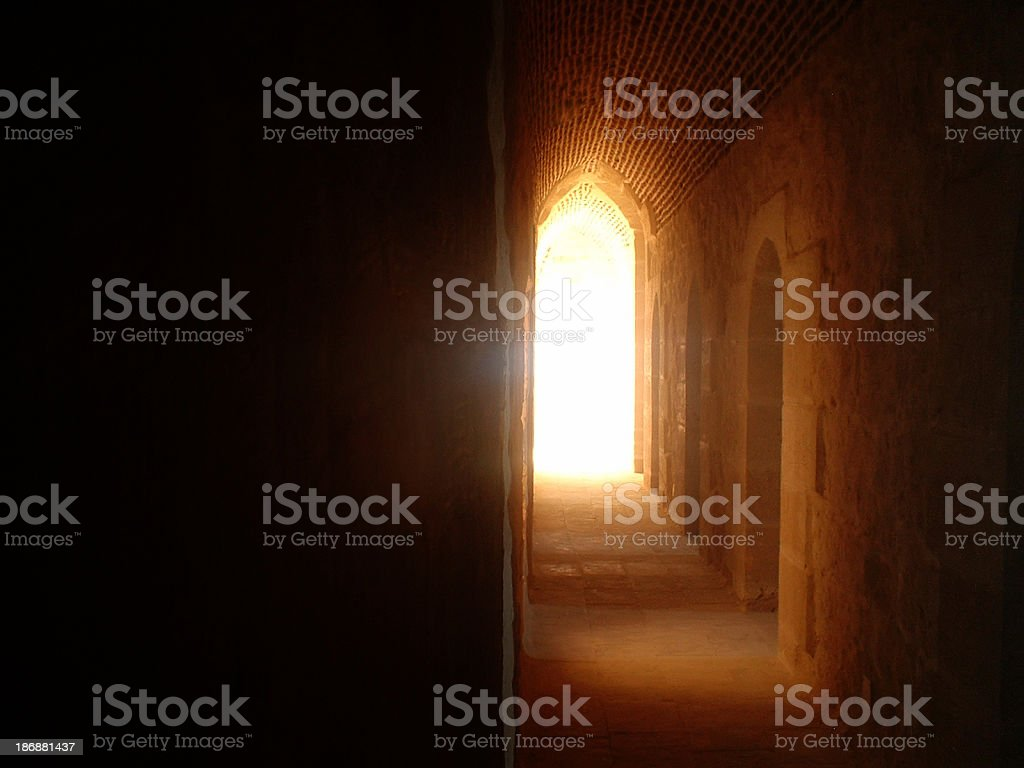 Arched Tunnel stock photo