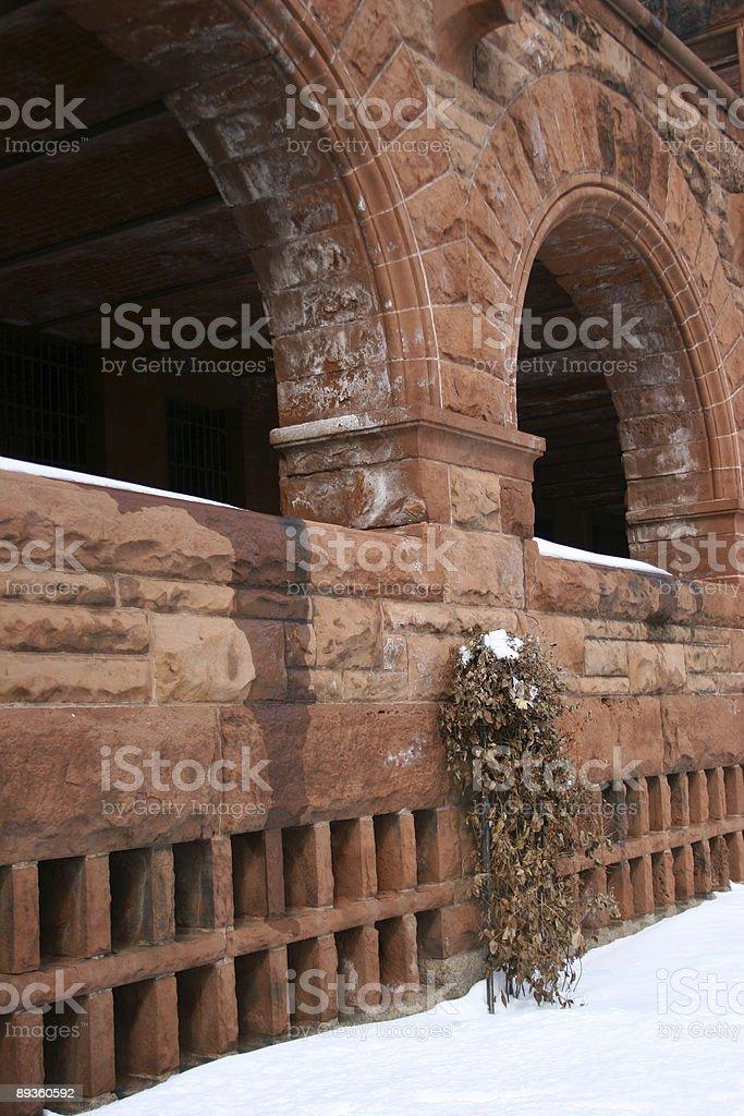 Arched Veranda I royalty-free stock photo