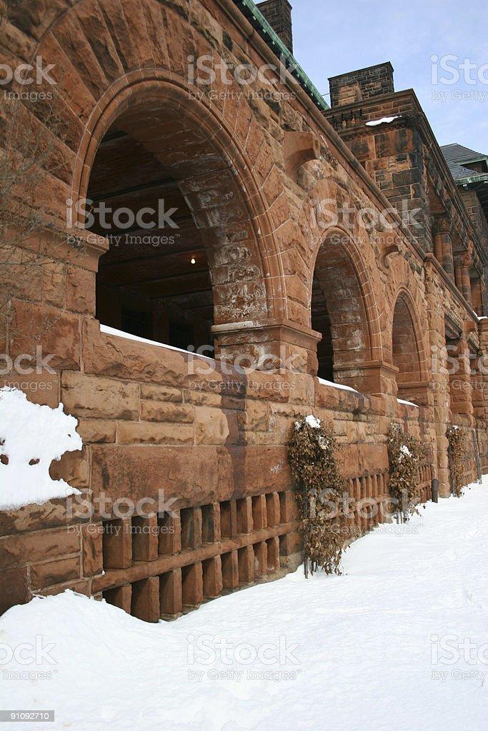 Arched Veranda II stock photo