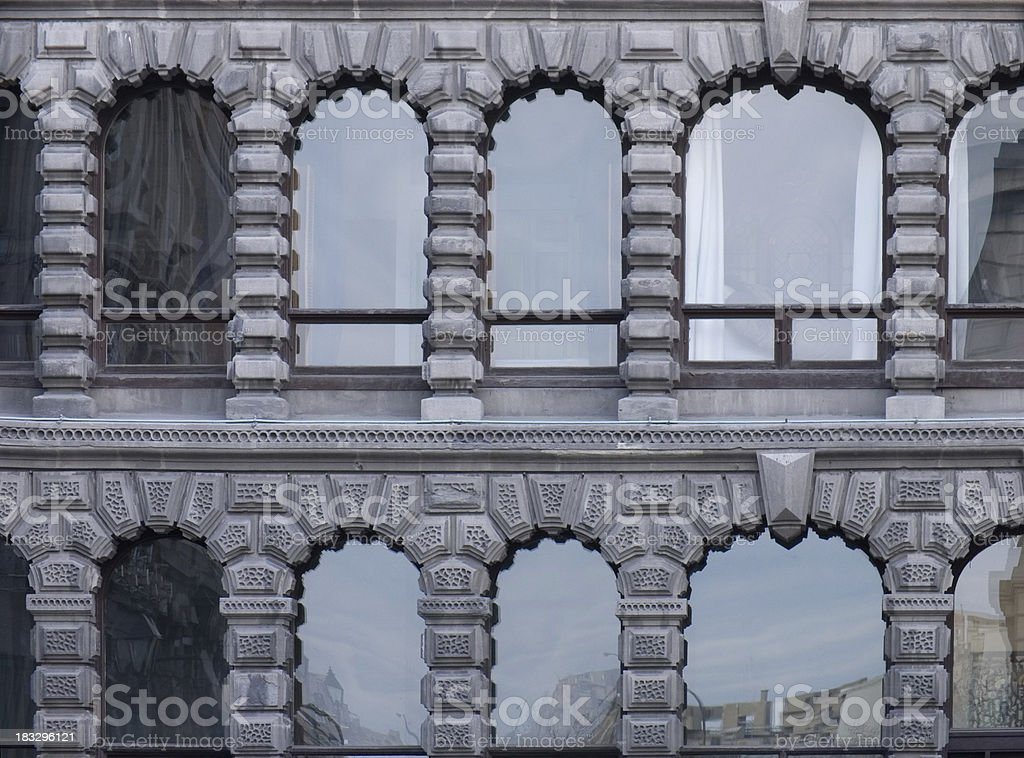 Arched Windows royalty-free stock photo