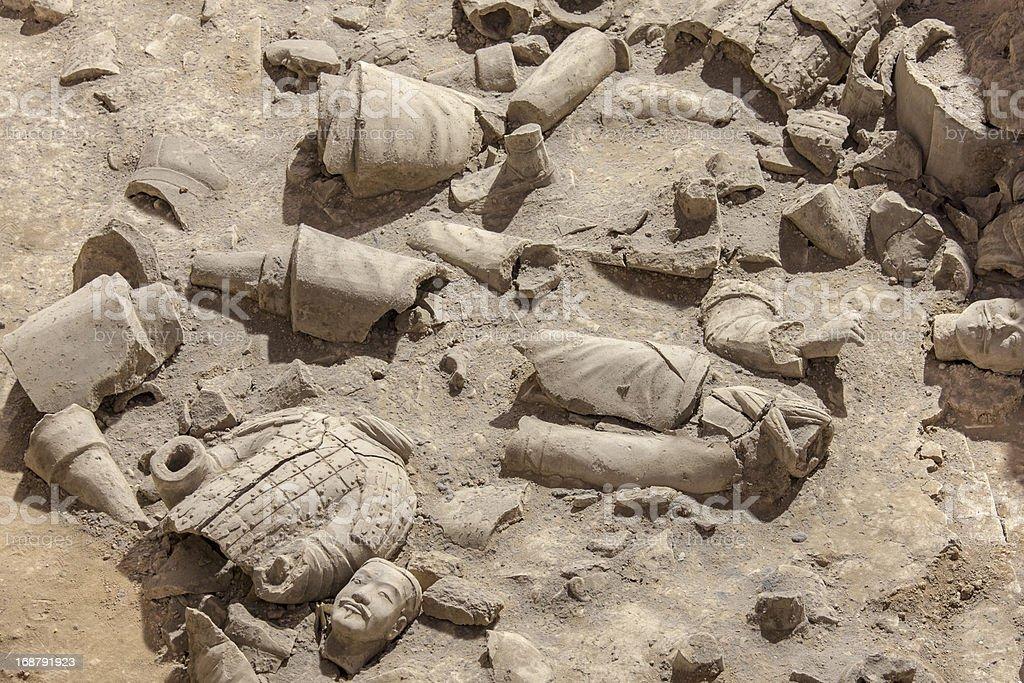 Archeology royalty-free stock photo