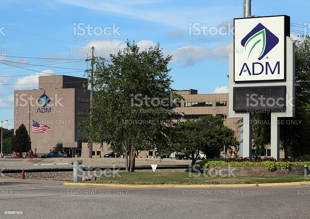 Archer Daniels Midland Company stock photo
