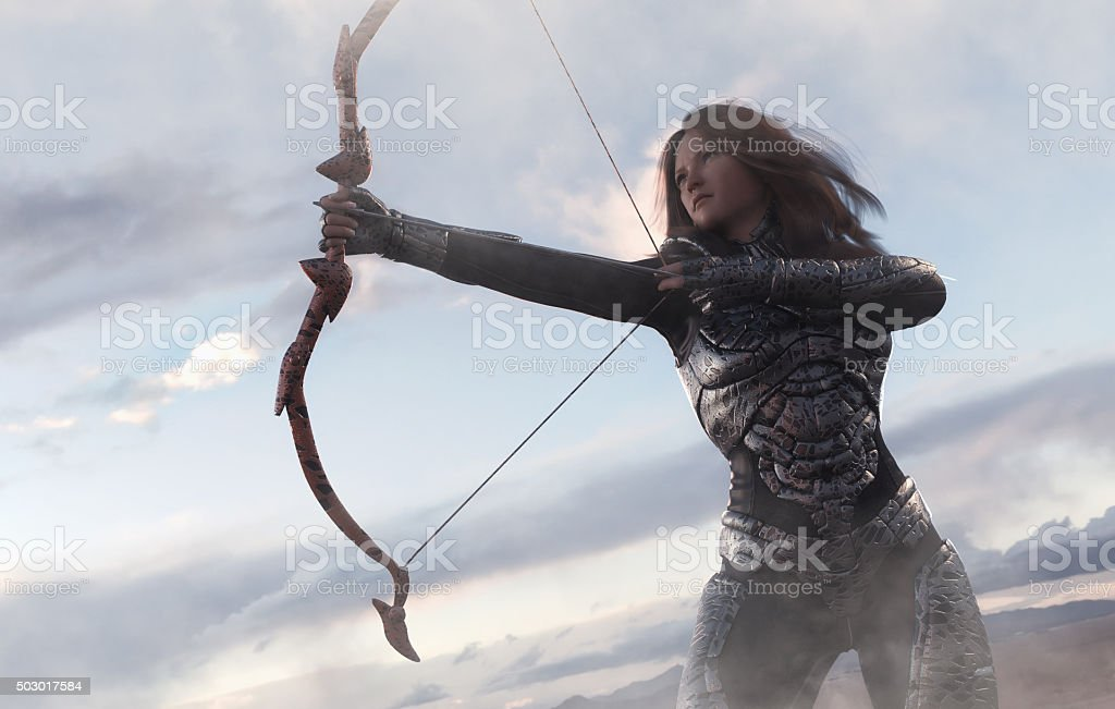 archer movement stock photo