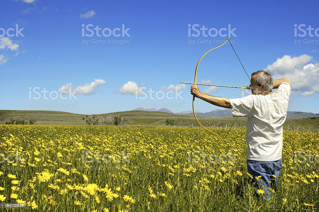 Archer royalty-free stock photo