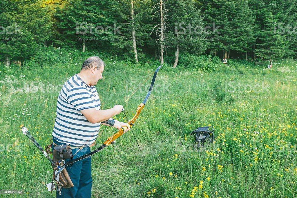 Archer stock photo