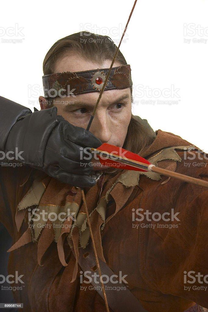 archer royalty-free stock photo