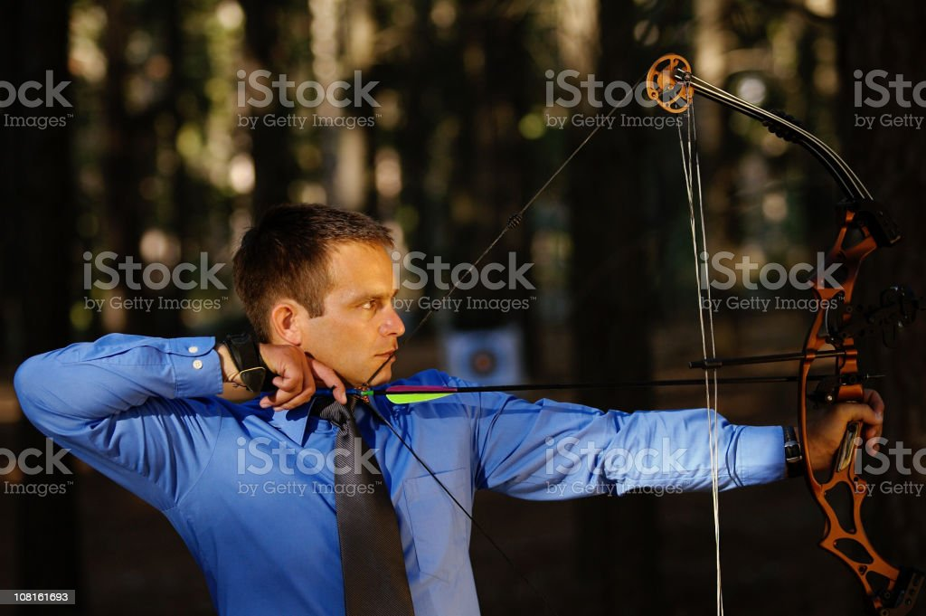 Archer Series royalty-free stock photo