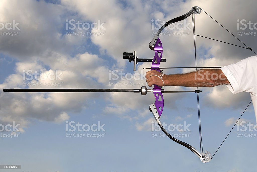 Archery royalty-free stock photo