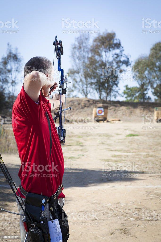 Archery stock photo