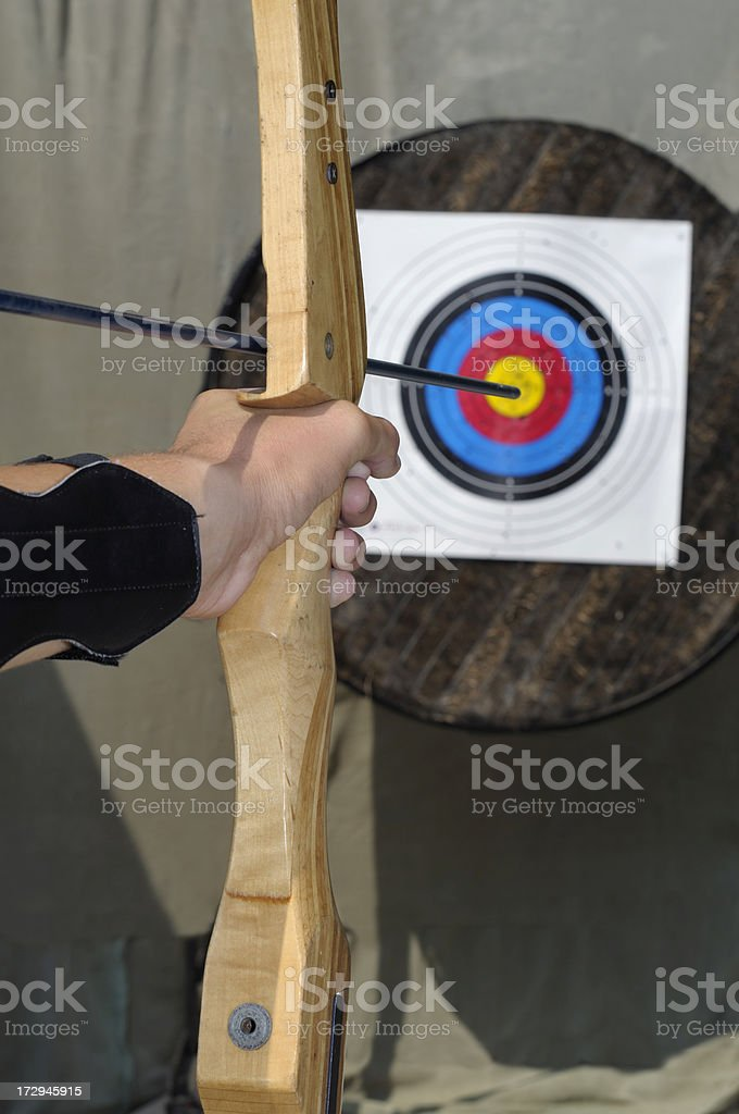 Archery royalty-free stock photo