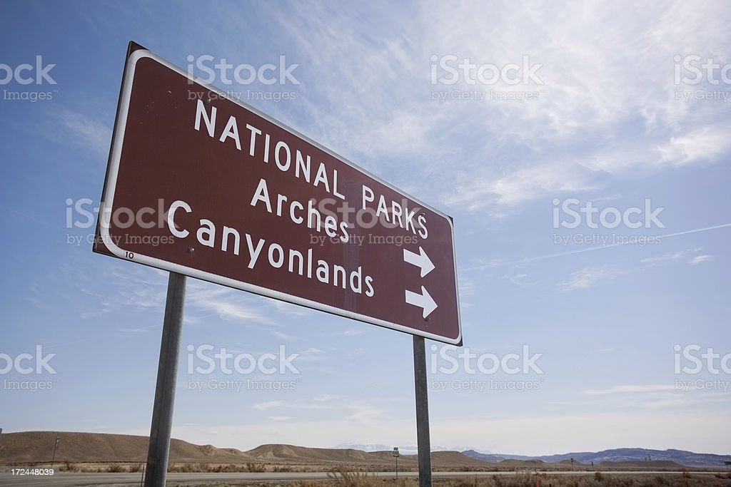 arches and canyonlands national park royalty-free stock photo
