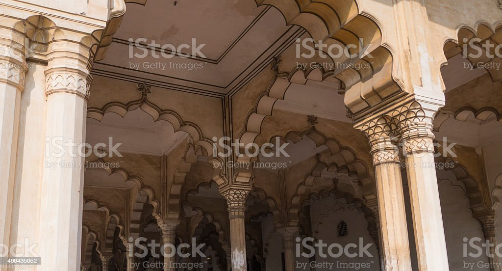 Arches and Columns stock photo