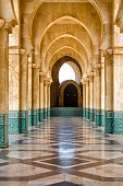 Arches, King Hassan II mosque, Casablanca, Morocco
