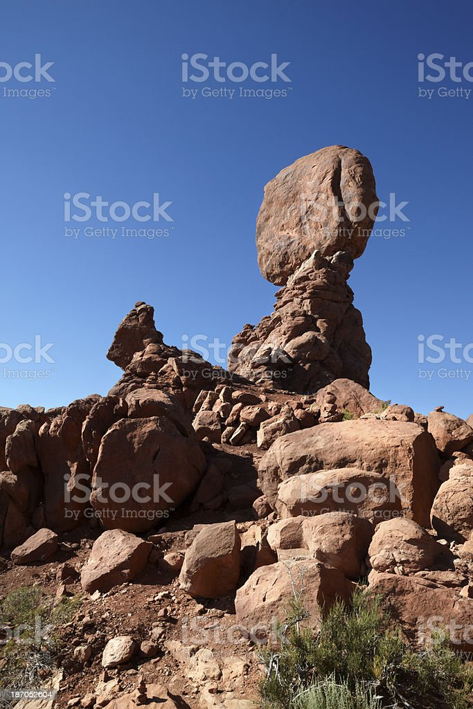 Arches National Park : Balanced Rock royalty-free stock photo