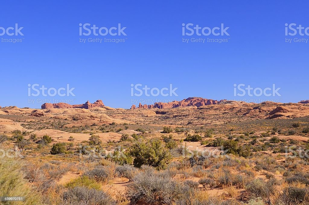 Arches National Park Landscape royalty-free stock photo
