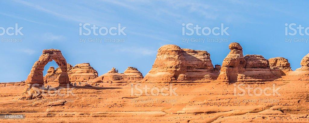 Arches National Park  Moab  Utah  USA stock photo