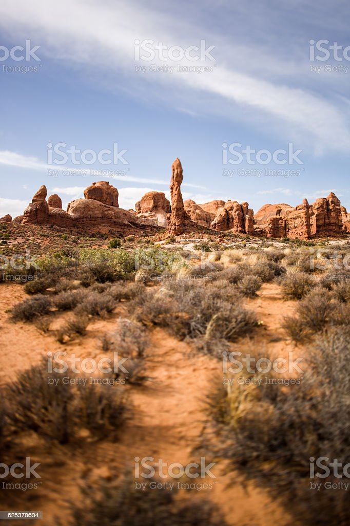 Arches National Park Utah stock photo