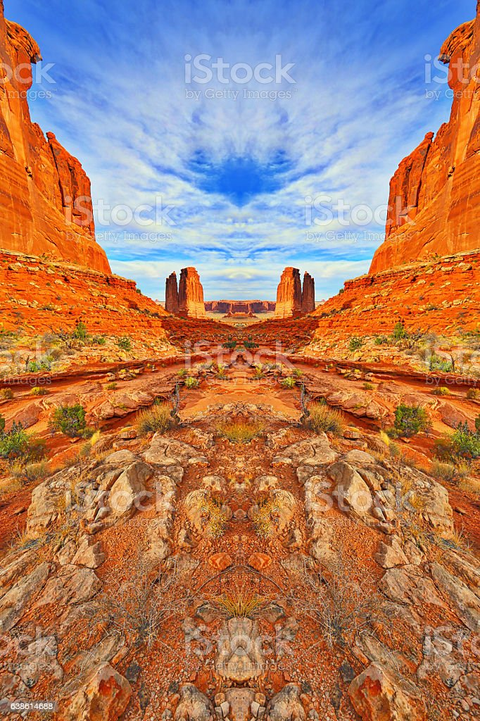 Arches National Park, Utah stock photo