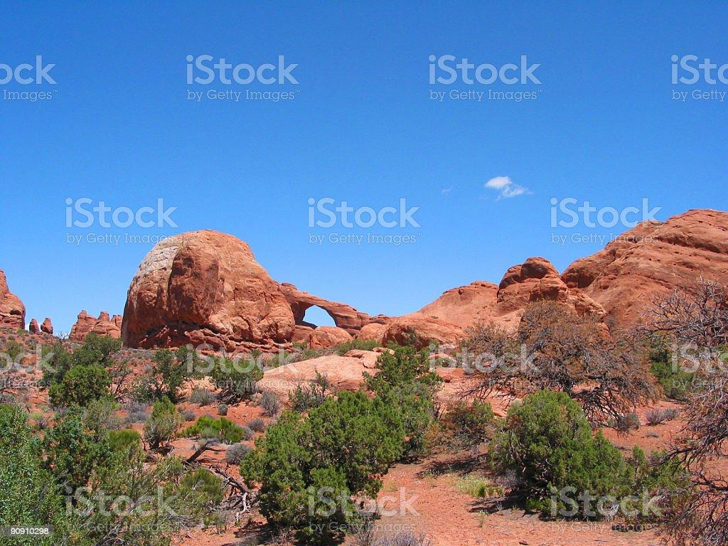 Arches National Park - Utah royalty-free stock photo