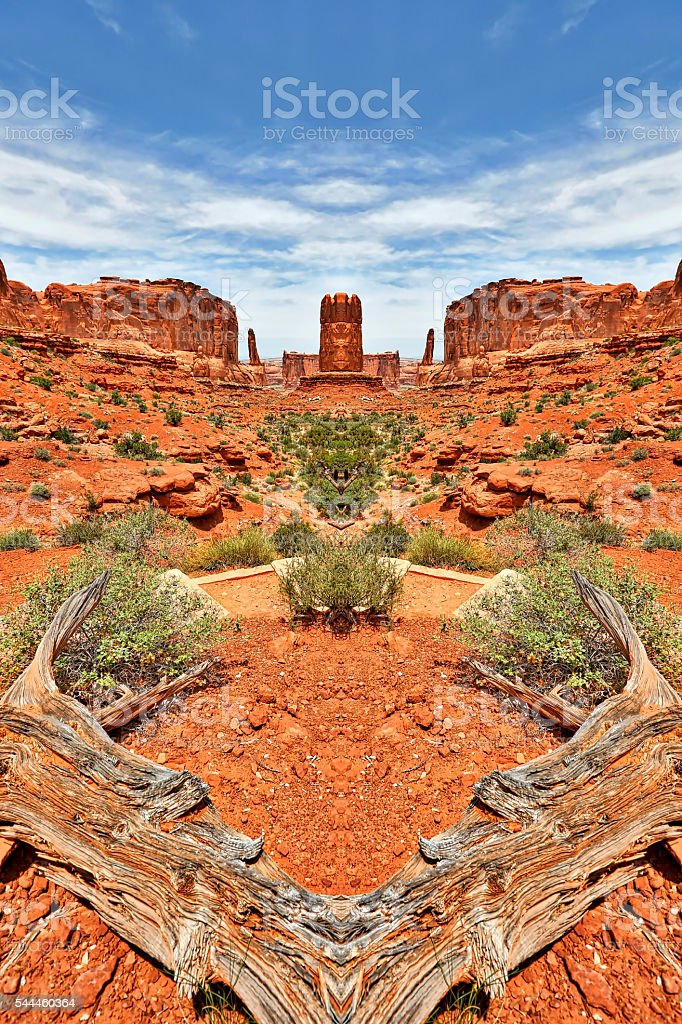 Arches National Park, Utah USA stock photo