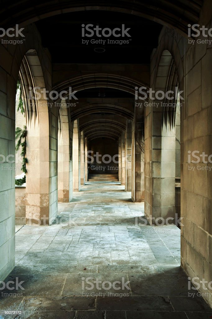 Arches of Chicago royalty-free stock photo