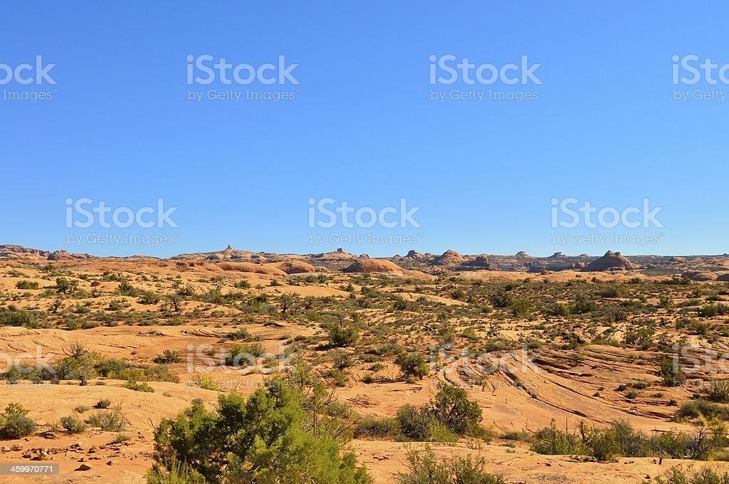 Arches Petrified Dunes royalty-free stock photo