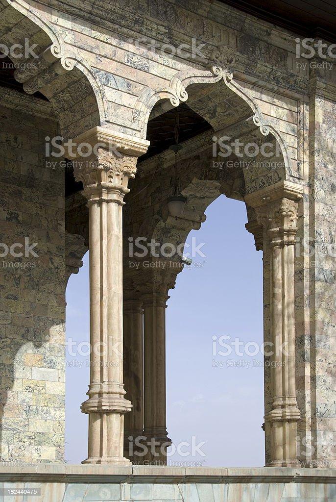 Arches stock photo