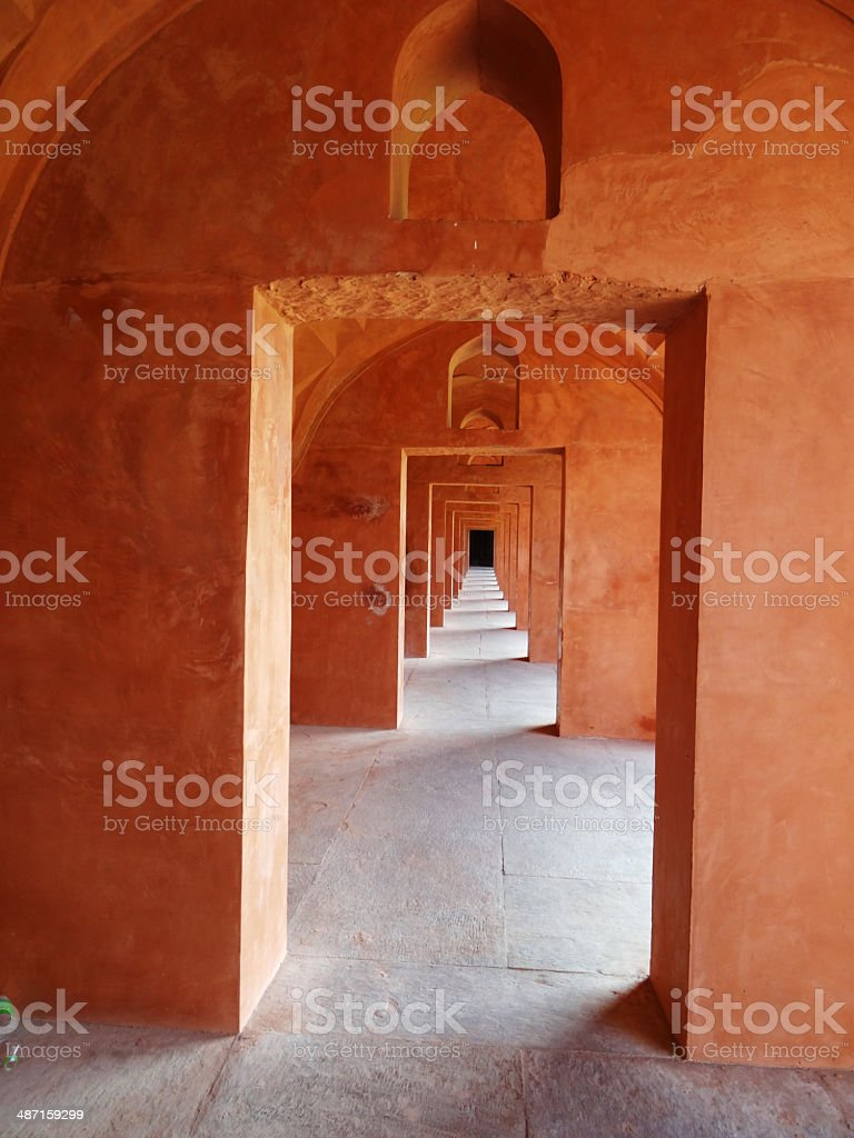 Arches To Infinity royalty-free stock photo