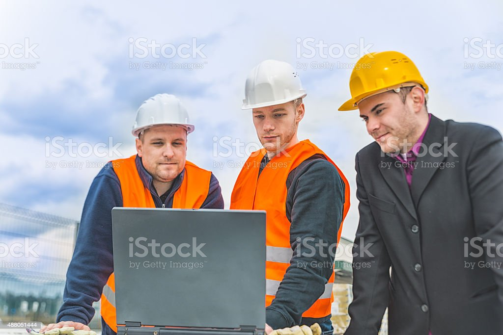 oil rig worker and laptop pictures, images and stock photos - istock