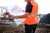 Architect Assistance Building Construction Site Concept