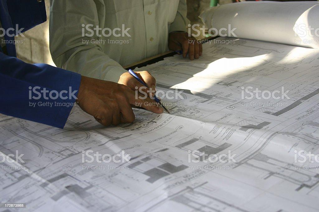 Architects 1 royalty-free stock photo