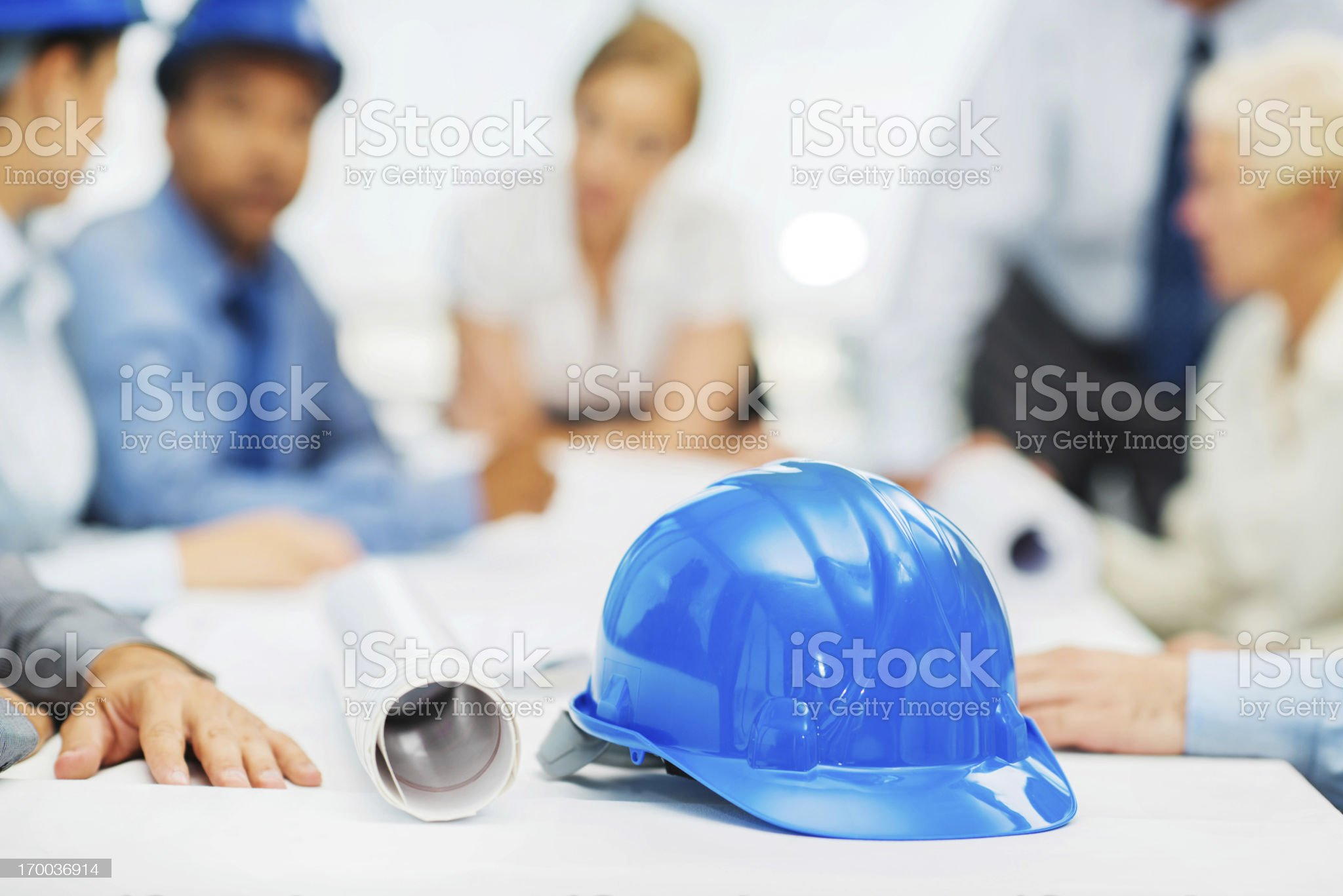 Architects on a meeting. royalty-free stock photo