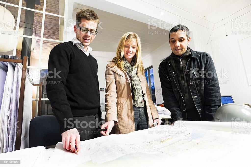 Architects royalty-free stock photo