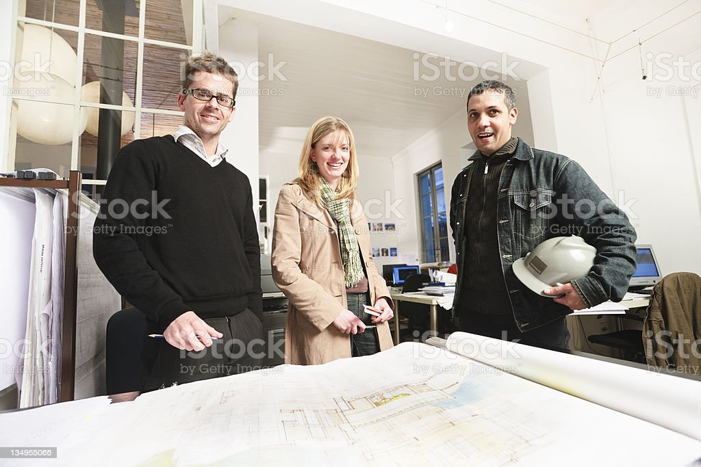 Architects royalty-free stock photo