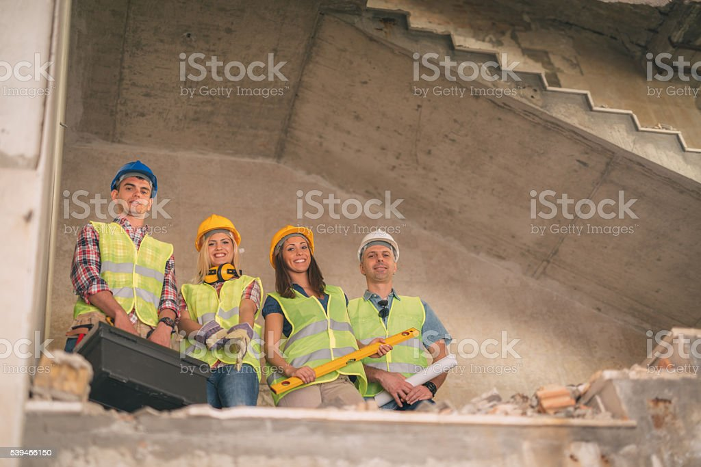 Architects Team stock photo