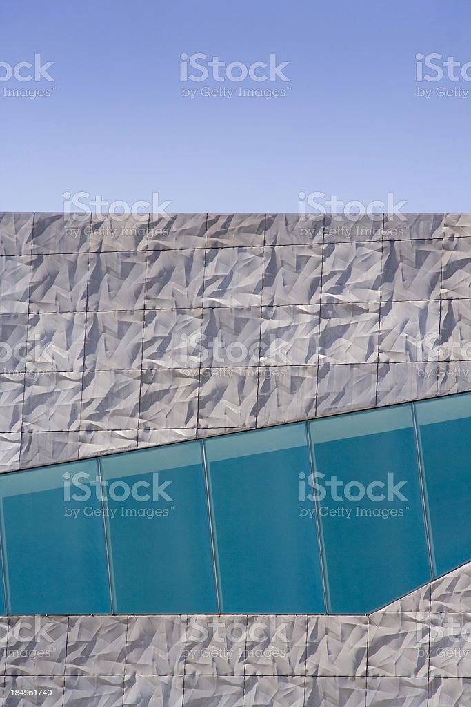Architectural Abstraction royalty-free stock photo
