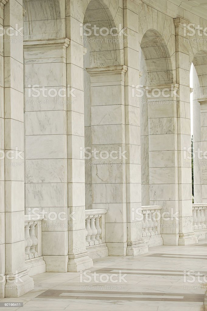Architectural arches royalty-free stock photo
