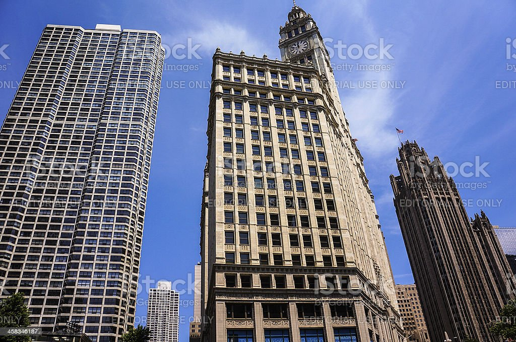 Architectural Buildings royalty-free stock photo