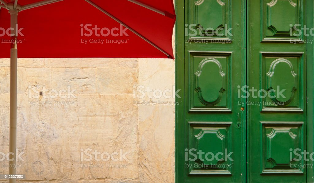 Architectural colorful abstract with copyspace stock photo
