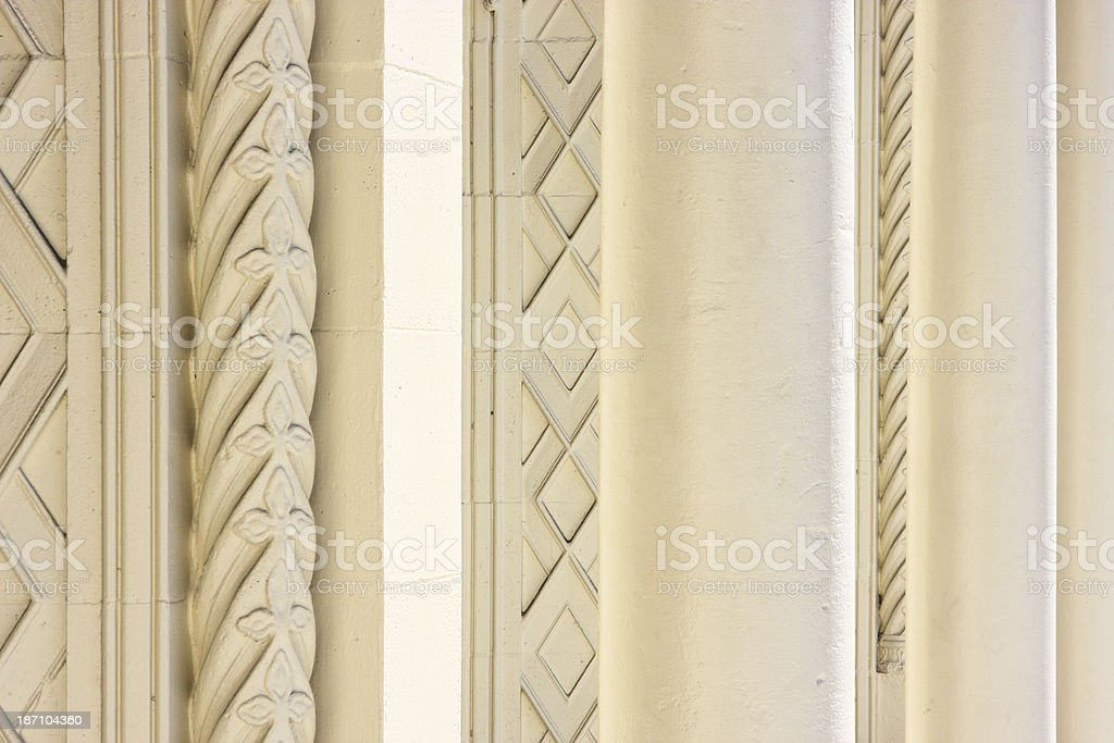 Architectural Column Construction royalty-free stock photo