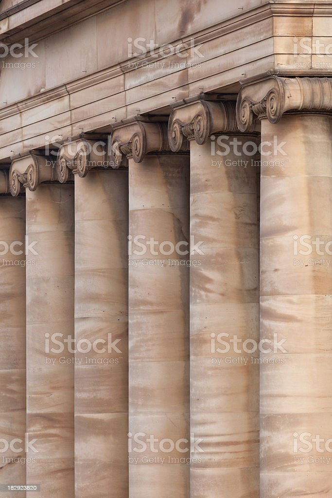 Architectural columns royalty-free stock photo