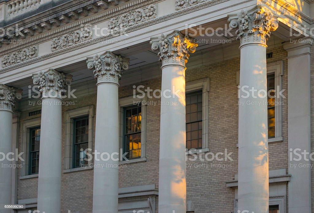 Architectural Columns stock photo