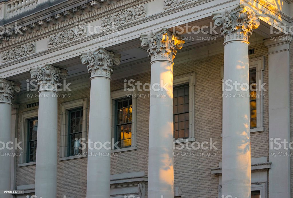 Architectural Columns stock photo