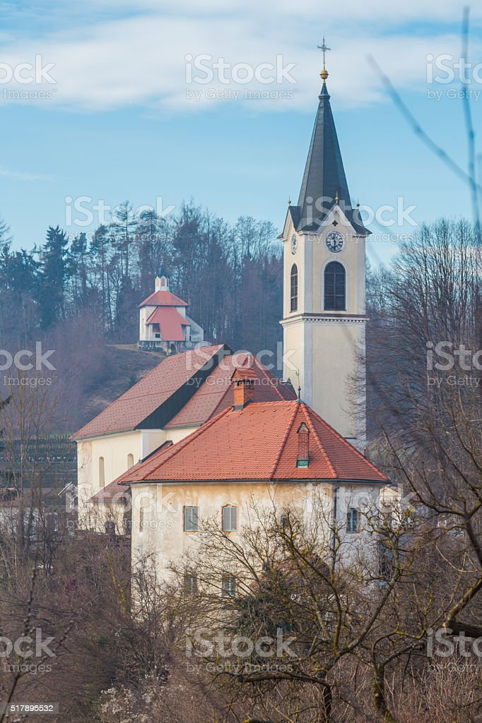 Architectural composition. stock photo