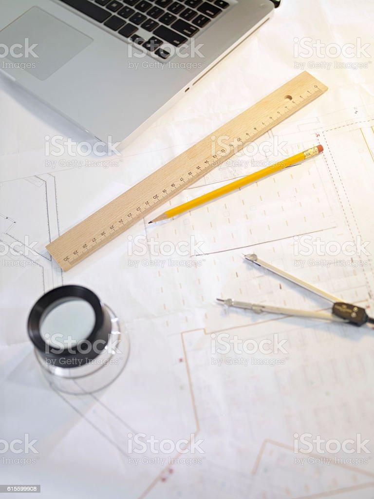 architectural design stock photo