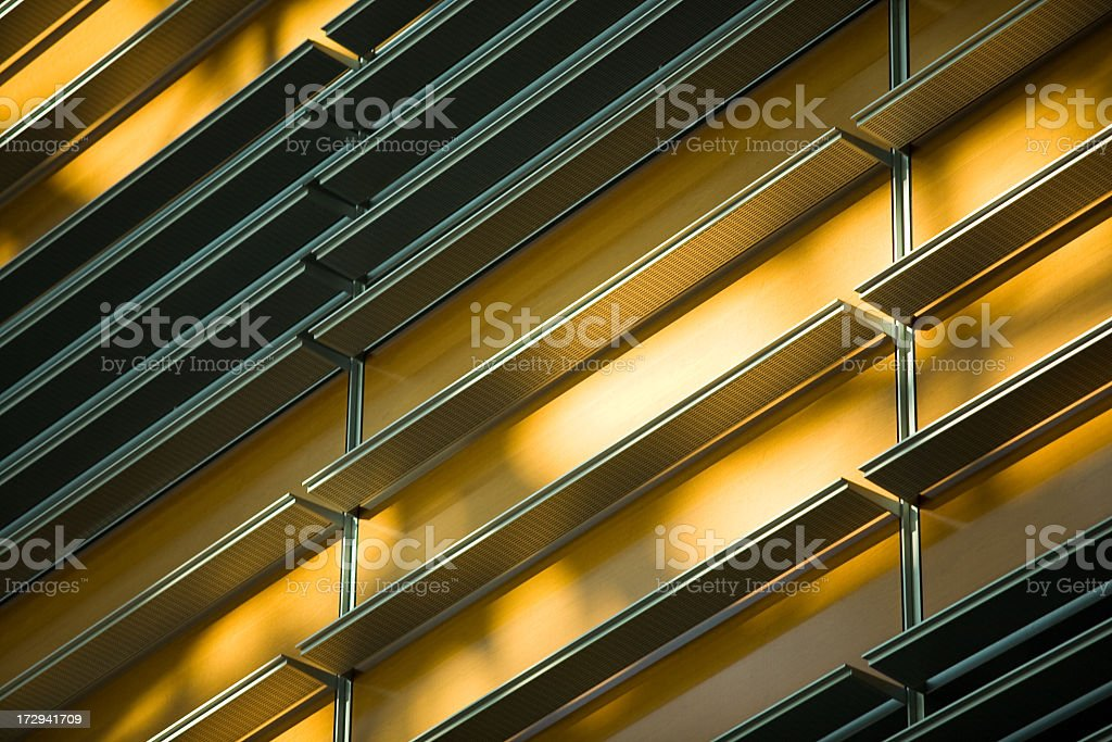 Architectural Detail at SFO stock photo