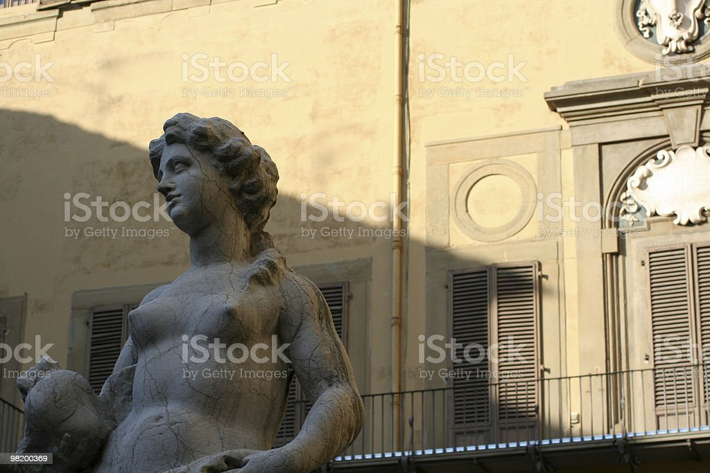 architectural detail from medicis palace stock photo