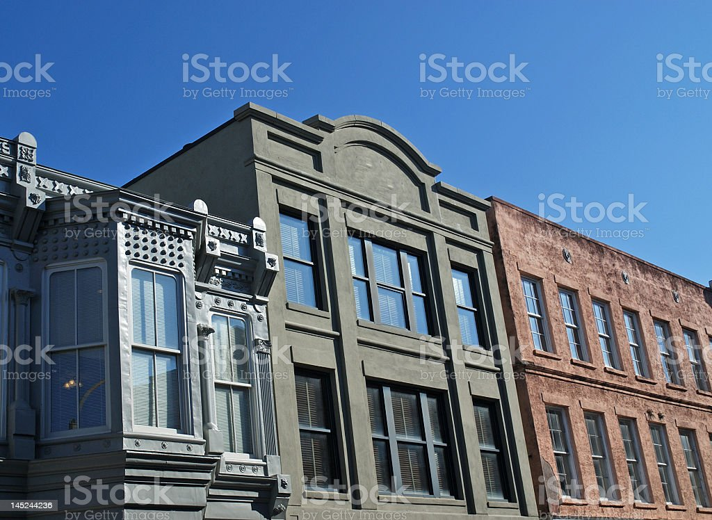 Architectural Detail in Charleston royalty-free stock photo